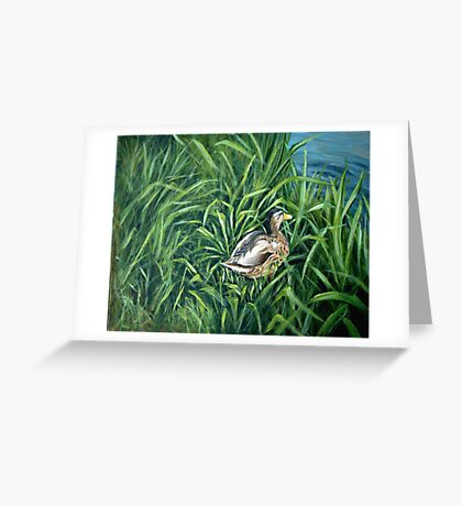 Ey up me duck Greeting Card