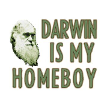 Darwin is my homeboy  by joshuanaaa