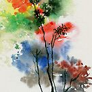 Trees in colors by Anil Nene