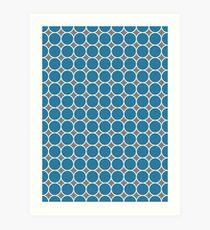ponovan (blue) Art Print