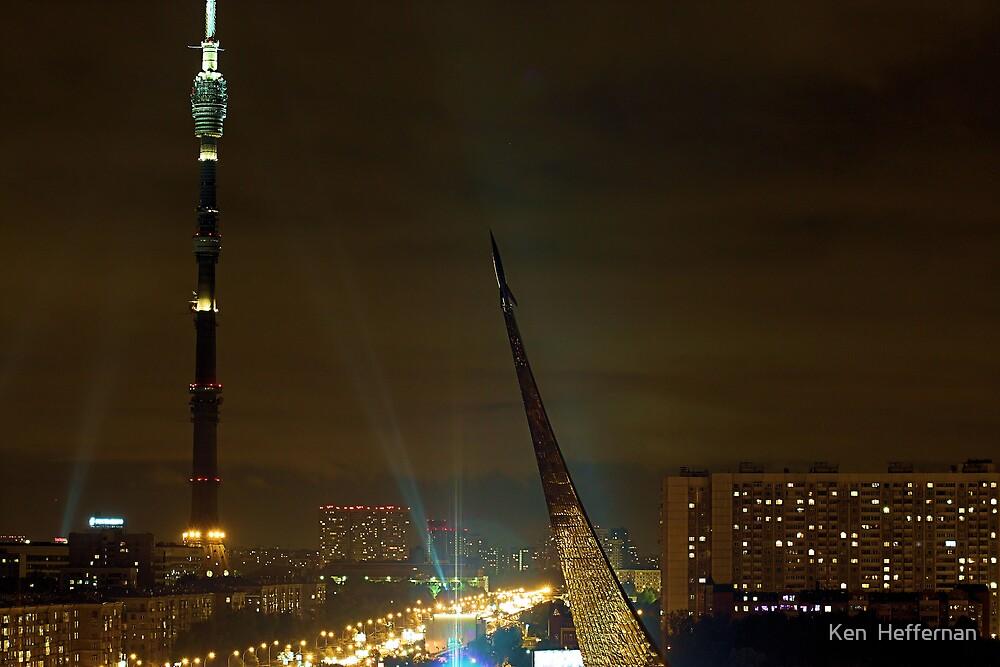 Moscow at Night by Ken  Heffernan