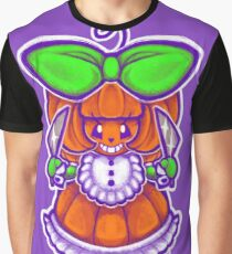 Chibi Pumpkin Loli Graphic T-Shirt