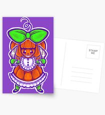 Chibi Pumpkin Loli Postcards