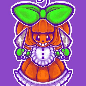 Chibi Pumpkin Loli by Poofette