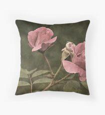 Garden Romance Throw Pillow