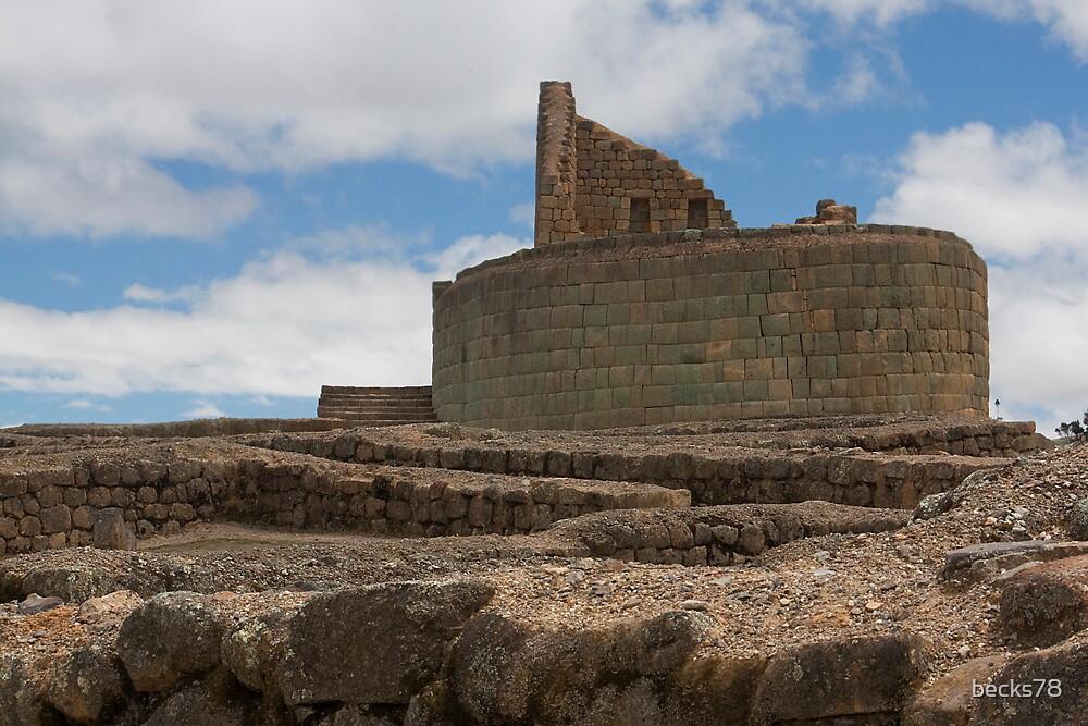 Inca's temple by becks78