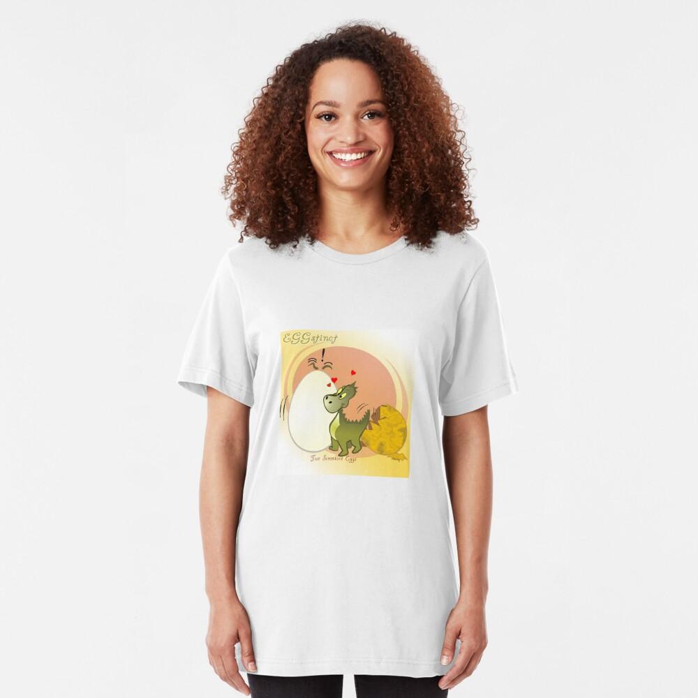 Two Scrambled Eggs - EGGstinct Slim Fit T-Shirt