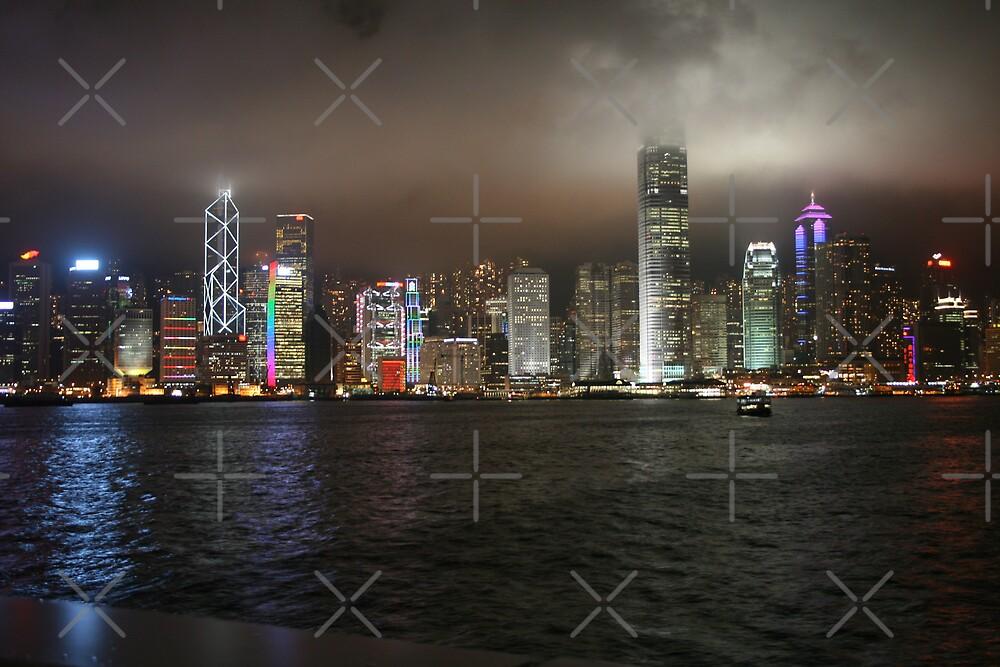 Hong Kong in the Fog by hjuk