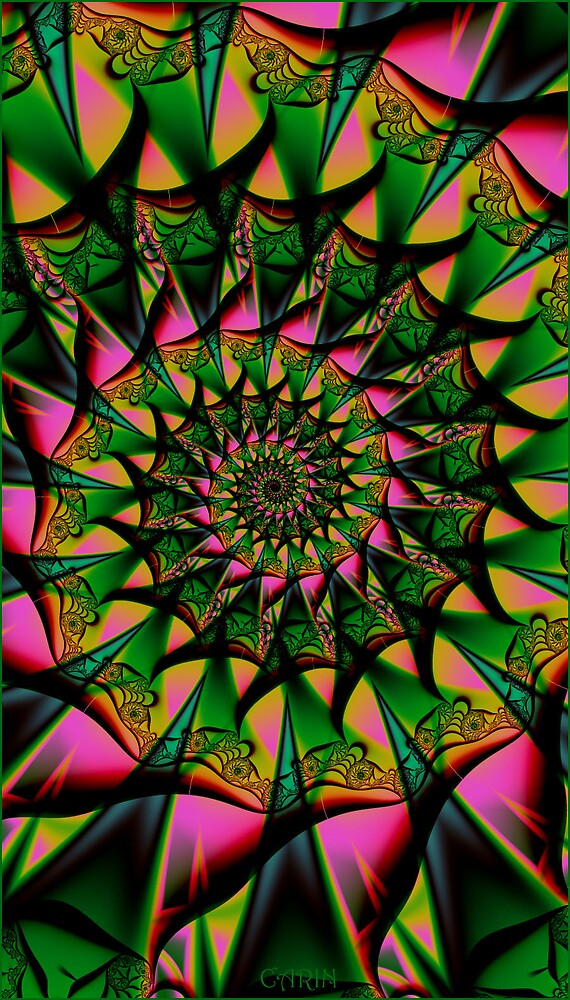 Caramel swirly by FractaliaNo1