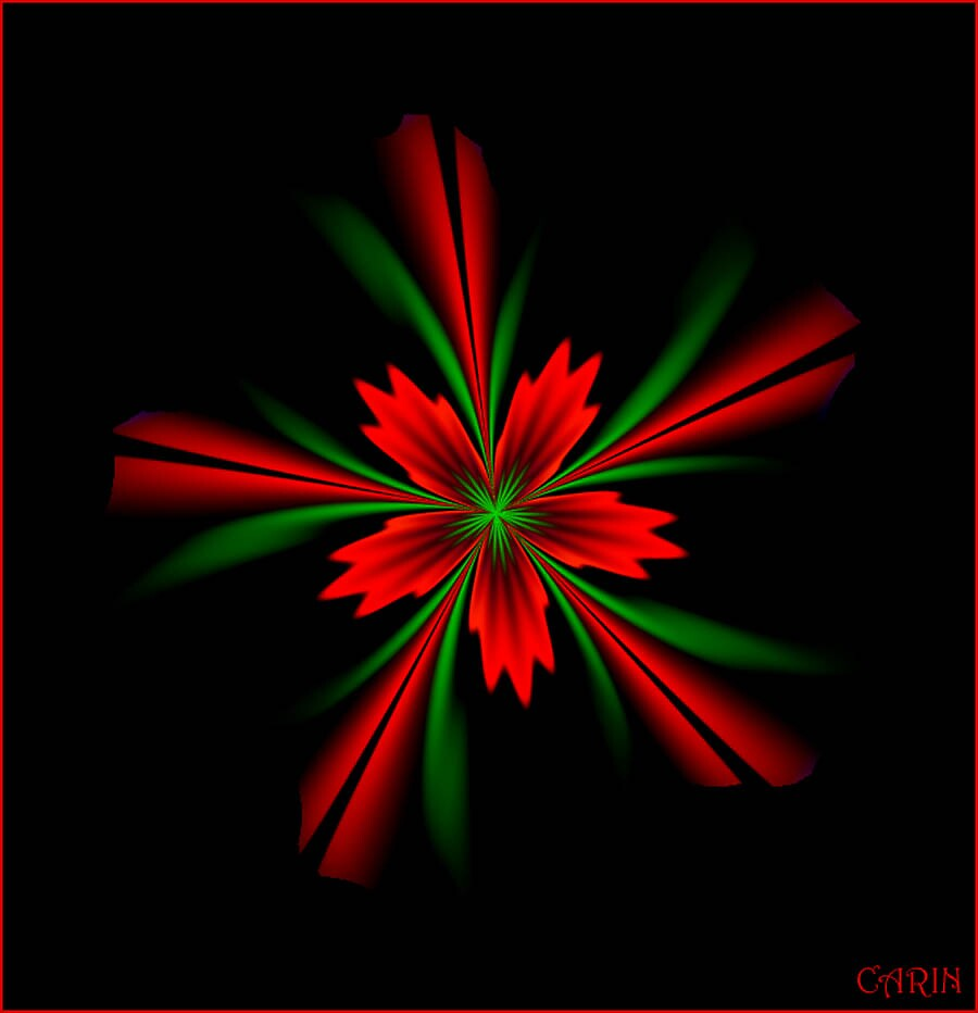 Christmas flower by FractaliaNo1