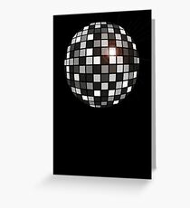Disco Shades Of Grey Greeting Card