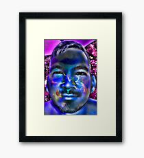 In a Childs Eyes Blue Nasa Framed Print
