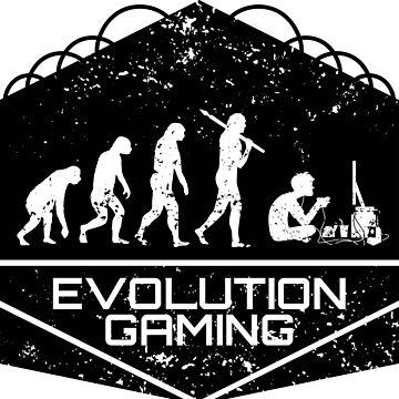 Video Games Evolution by anziehend