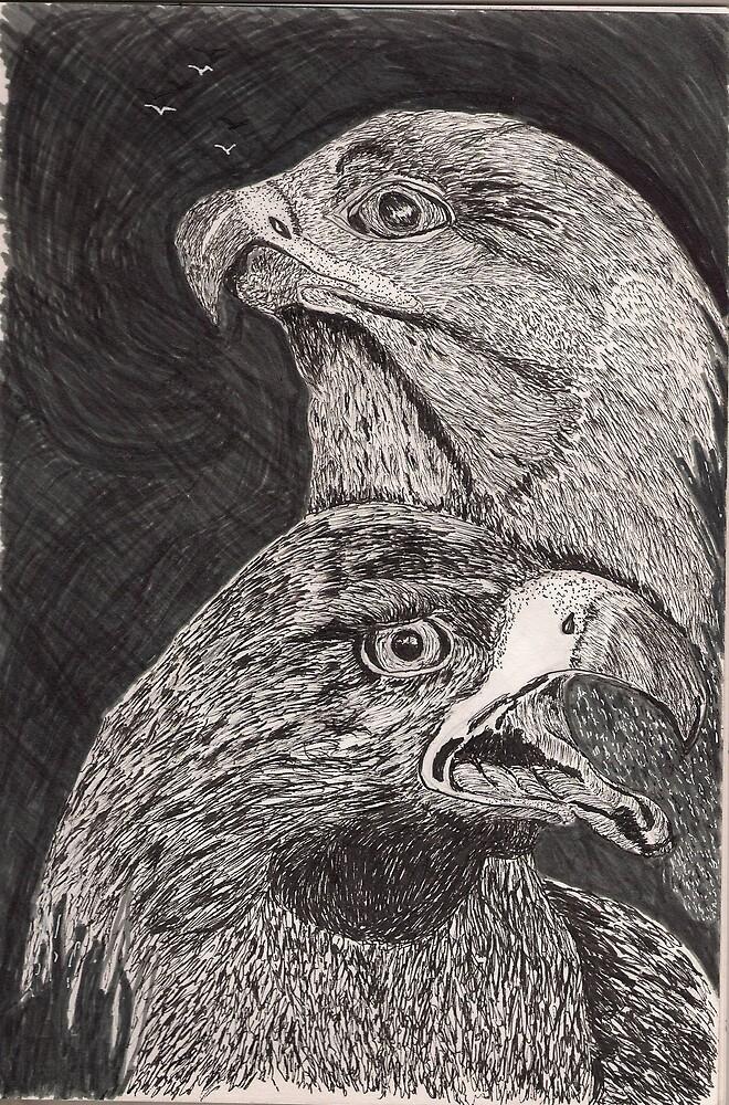 Spirit Eagles by GEORGE SANDERSON