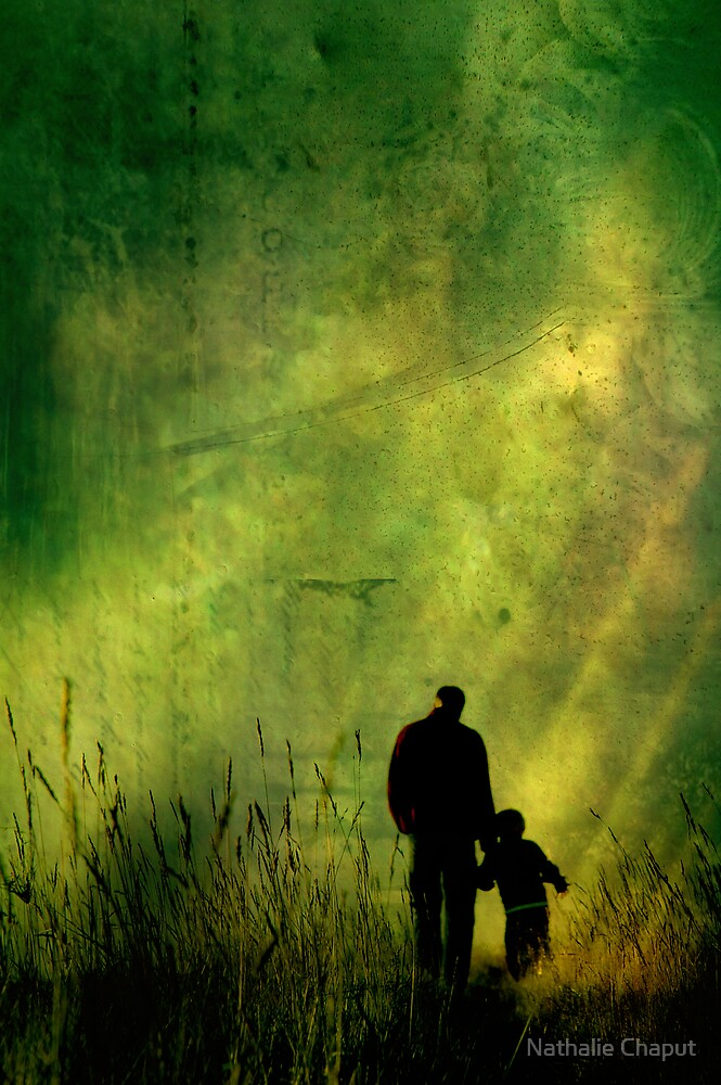 Father and Son by Nathalie Chaput