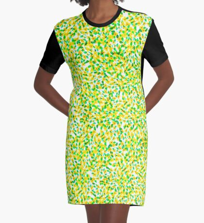 Forge-Me-Nots Graphic T-Shirt Dress