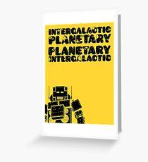 Tarjeta de felicitación Beastie Boys - Intergaláctico