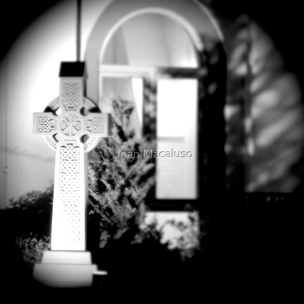 Celtic Cross by Jean Macaluso
