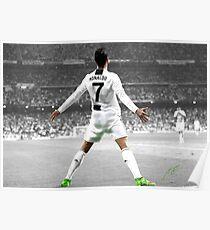Juventus Cristiano Ronaldo Poster