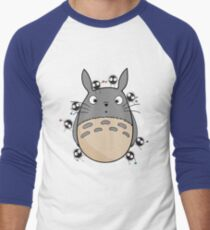 Little Totoro Men's Baseball ¾ T-Shirt