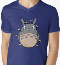 Little Totoro Men's V-Neck T-Shirt