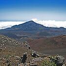 Haleakala Crater Maui, Hawaii by sandra greenberg