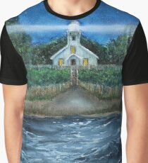 Mission Point Lighthouse Graphic T-Shirt