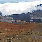 Haleakala, Crater -Maui, Hawaii by sandra greenberg