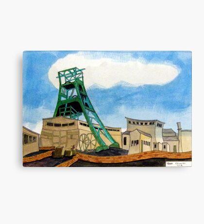428 - BENDY BATES - DAVE EDWARDS WATERCOLOUR - 2018 Canvas Print