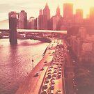 Sunset Glow New York City by Vivienne Gucwa