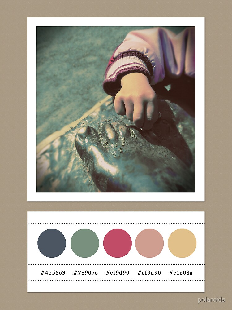 Parenting colors... by polaroids