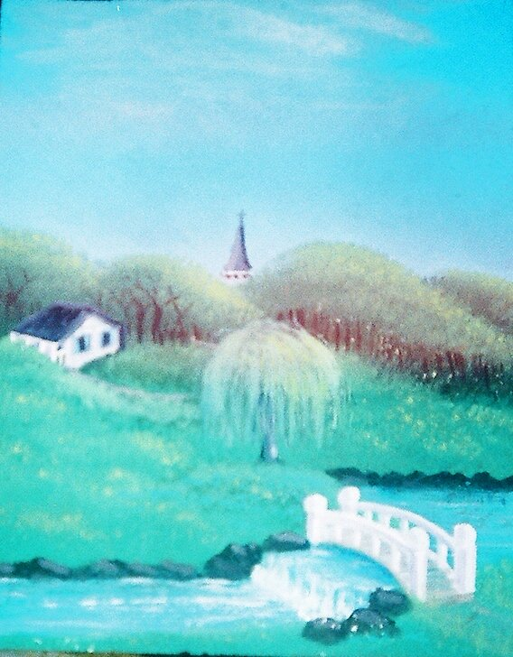 Weeping Willow Church by sherbb
