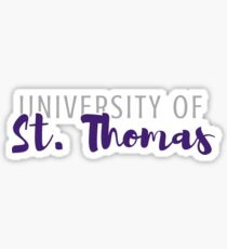 University of St. Thomas Sticker