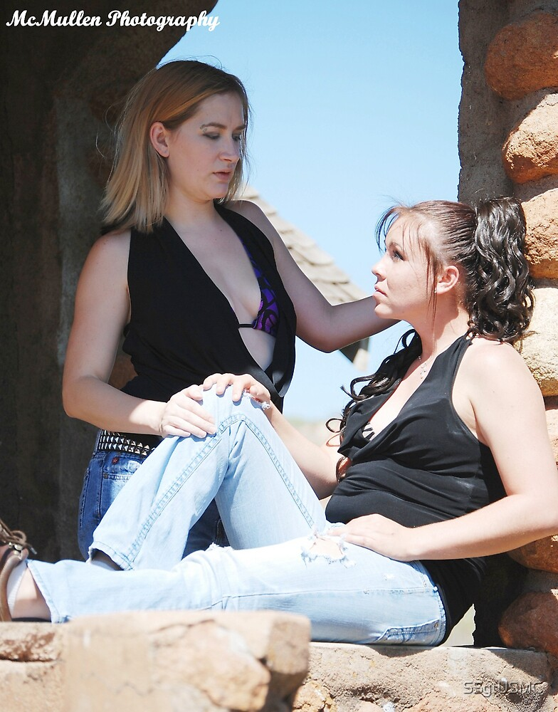 Aleya & Becky 2 by SSgtUSMC