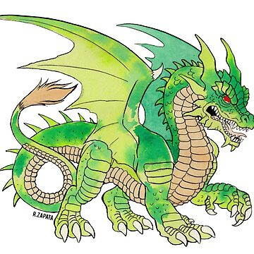 Marquilla Green Dragon by nyctherion