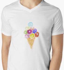 Ice cream cone Men's V-Neck T-Shirt