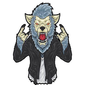 Werewolf rockstar by sager4ever