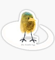 Two Scrambled Eggs - The Chick Sticker