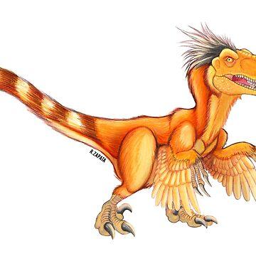 Raptor de cola anillada de nyctherion