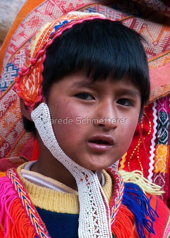 Young Incan Boy by Jarede Schmetterer