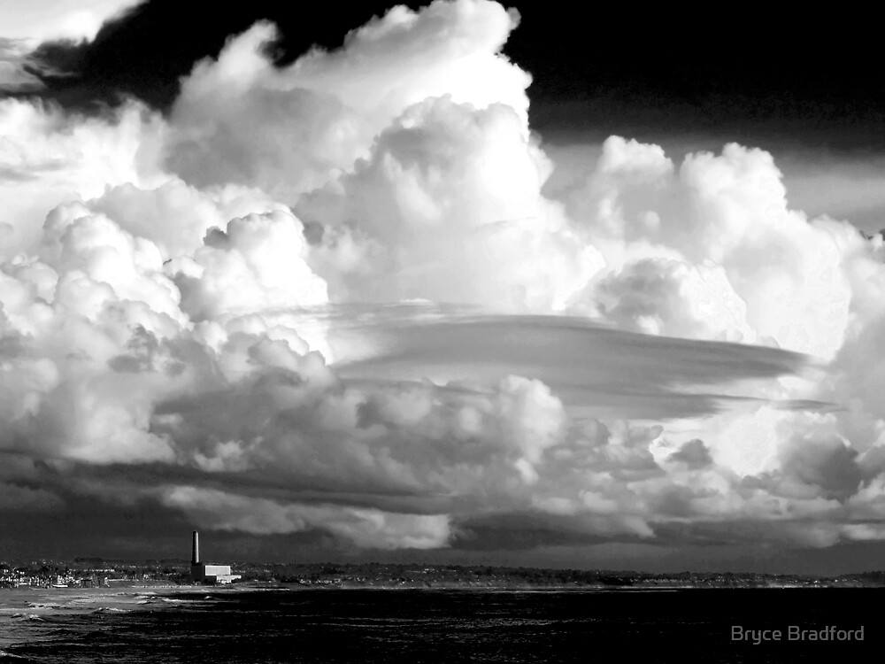 Thunderstorm Over Carlsbad, CA by Bryce Bradford