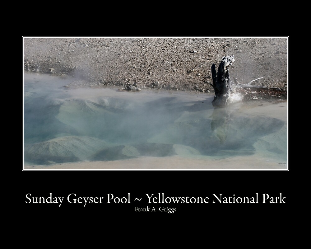 Sunday Geyser Pool Two by FrankGImages