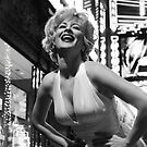Marilyn Portraits on the Boulevard 2 by Jim Fisher