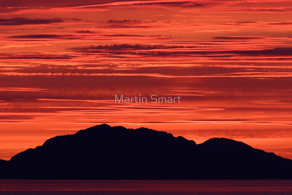 Sunset in Parallel by Martin Smart