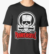 FrankenSkull- Detailed Logo Men's Premium T-Shirt