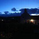 indigo dusk by NordicBlackbird