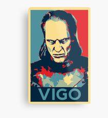 Vote Vigo Metal Print