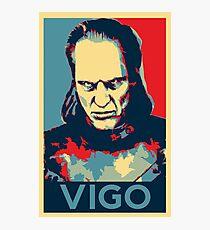 Vote Vigo Photographic Print