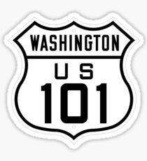 US Route 101 (Washington) 1926 Cutout Edition Sticker