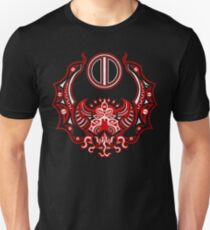 The Crimson Bat Steed of the Red Goddess by Kalin Kadiev Slim Fit T-Shirt